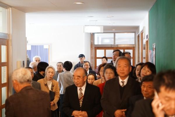 小山清茂記念展示室開設式典